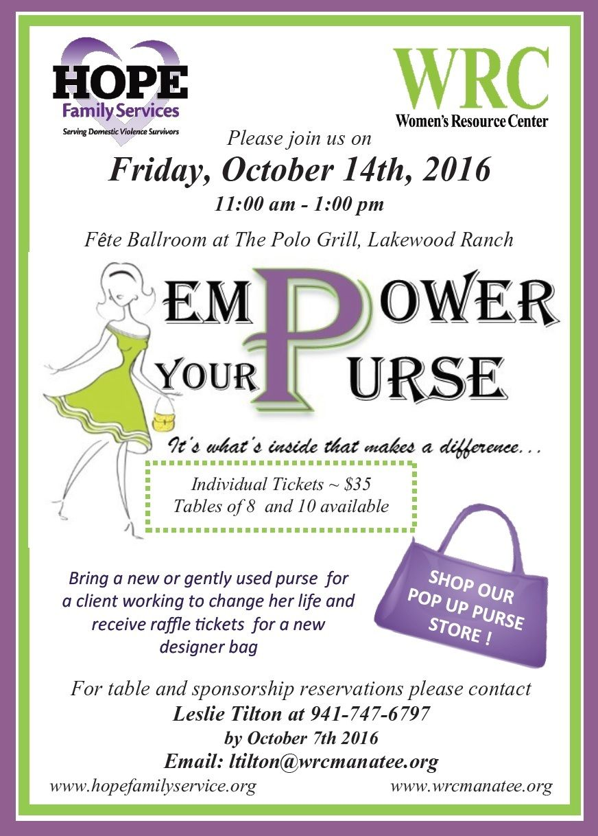 Empower Your Purse Final Invitation 2016