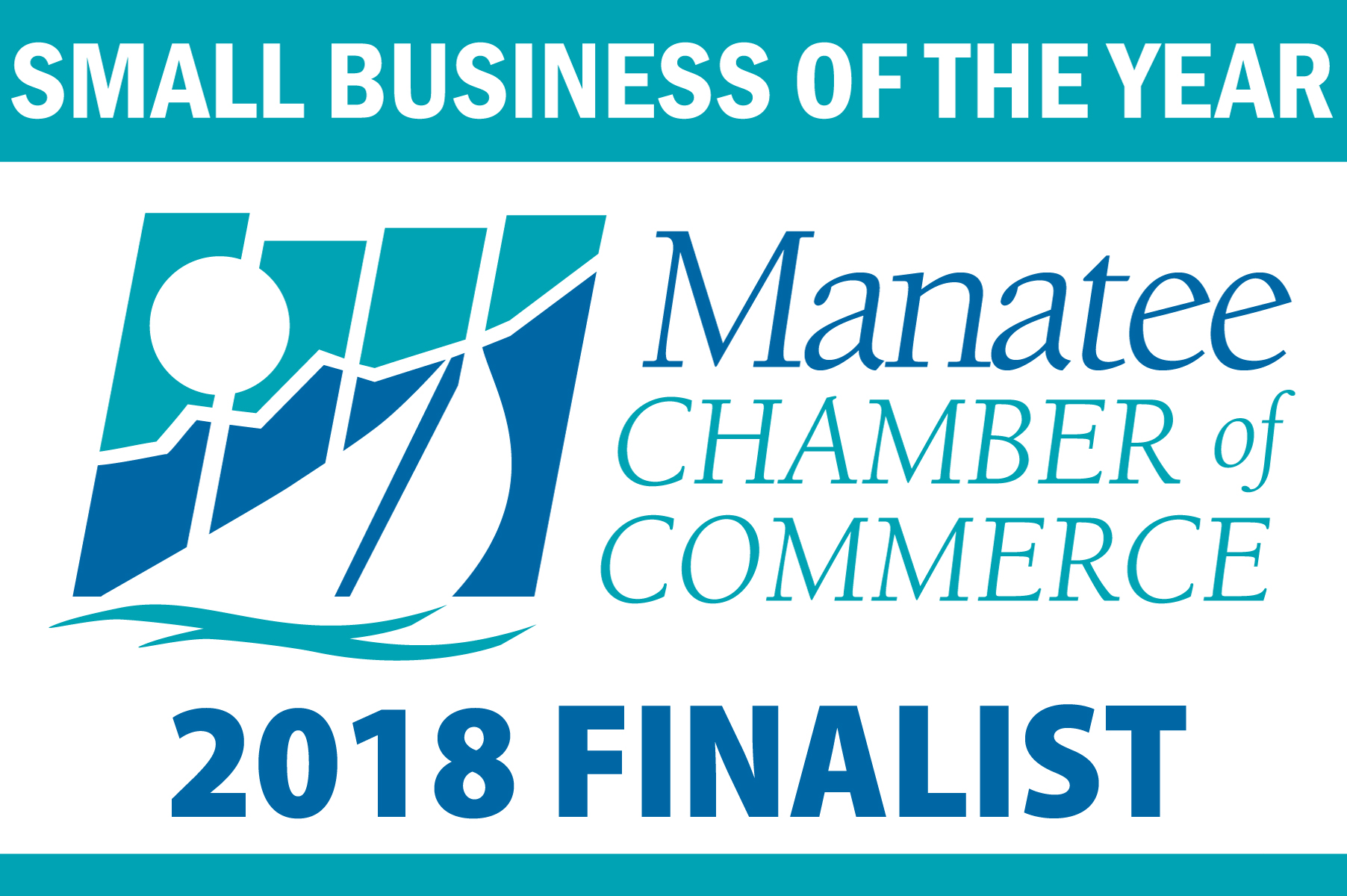 Small Business of Year Logo 2018 FINALIST